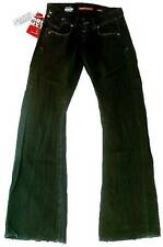 MISS SIXTY Perkins Trousers Wash BM Style J41R Schwarz Jeans W25 L34 25/34