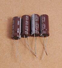 4pcs - 220uf 63v Radial Electrolytic Capacitors.63v220uf
