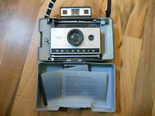 Old Vintage Polaroid Land Camera Automatic 320 & 2 cold clips in Carrying Case