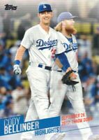 2018 Topps Baseball Cody Bellinger Highlights Inserts #CB-23 Los Angeles Dodgers