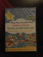 4 DVD Children's Collection. Great DVDs for Kids 76 songs, 3 hrs *NEW&WRAPPED*