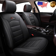 US Car Front 2PC 5-Seat Leather Seat Cover Cushion For Toyota Camry Corolla RAV4