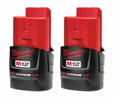 Milwaukee M12B2 12V 2.0Ah Lithium-Ion Battery Red