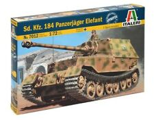 7012 Sd.Kfz.184 Panzerjager ELEFANT  Italeri 1:72 model kit