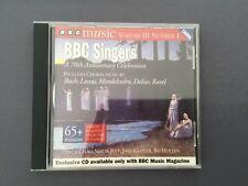 CD BBC SINGERS 70th Anniversary Celebration Bach Lassus Mendelssohn Delius Ravel