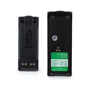 2 X NTN7143 NTN7144 Battery for MOTOROLA HT1000 HT6000 MTS2000 MT2000 MTX9000