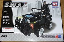 SWAT Jeep BricTek Building Block Construction Brick Toy Bric Tek 11114 S.W.A.T.