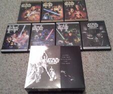 Star Wars Prequel & Original Trilogy DVD Set ~ Original + Excellent ~ 1 thru 6