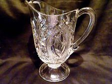 Vintage EAPG Arrow Sheaf 32 OZ PITCHER Circa Early1900s ORIGINAL