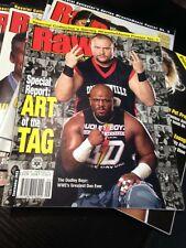 WWF WWE RAW Magazine SEPTEMBER 2003 Dudleys / Wrestlemania Poster Special 1