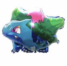 "22"" Bulbasaur / Ivysaur Pokemon Balloon Birthday Party Decoration Cartoon"
