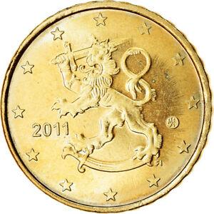 [#765691] Finlande, 10 Euro Cent, 2011, SUP, Laiton, KM:126