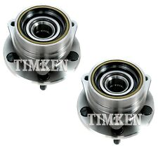 Pair Set 2 Front Timken Wheel Bearing Hub Kit for Cherokee Comanche Wrangler 4WD