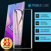 Galaxy Note 10 Plus 5G Full Cover Tempered Glass Screen Protector For Samsung