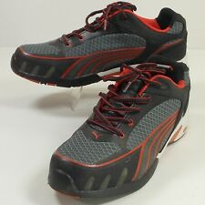 Puma Womens 10 Steel Toe Safety Shoes Sneakers SD  Fuse Motion Gray Red
