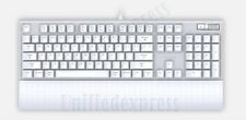 Azio MAC Mechanical Keyboard USB w/ White Backlight Backlit~Kailh Brown K-Switch