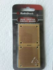Duel Printed Circuit Boards by Radio Shack 276-0148 PCB