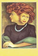 Diego Rivera : Para Matilde y Pablo art circa 1953, Mexico Art Card / Postcard!