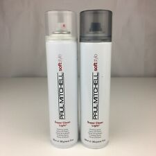 2 Pack Paul Mitchell Super Clean Light Finishing Spray 10 oz Scuffed