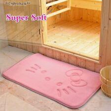 Hello Kitty Rug Pink Bathroom Show Tub Accessories Mat Carpet Doormat Fleece New