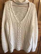 RIVER ISLAND OVER SIZED JUMPER.....SIZE 12