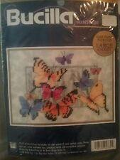 Bucilla Butterfly Surprise Needlepoint  NEW #4764