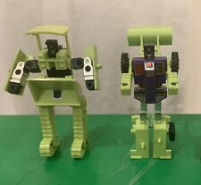Transformers G1 Constructicons Devastator Bonecrusher & Scrapper, 1984 Lot