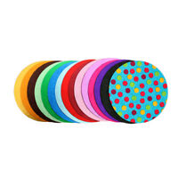 CAKE BOARDS VARIOUS COLOURS ROUND DRUM SINGLE BOARDS, 12mm FANTASTIC QUALITY