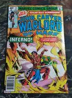 JOHN CARTER WARLORD OF MARS #25 (1979) Marvel Comics Book CU