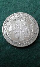 1923 George V Half Crown  500 Half  Silver