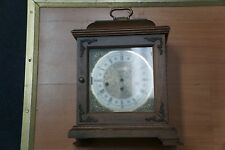 ANTIQUE HAMILTON WHEATLAND WESTMINSTER MANTEL CLOCK (4) CHIMES SOLID WOOD