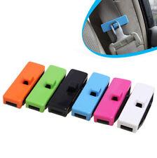 1 Pair Car Seat Belt Stopper Adjuster Clips Buckle Safety Comfort 5 Colour
