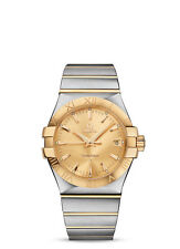 Omega 123.20.35.60.08.001 Constellation Men Wristwatch - Gold