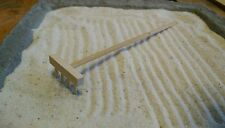 Miniatura in legno GIARDINO ZEN RASTRELLO (anche per casa delle bambole) - Sigillato Nuovo di Zecca &