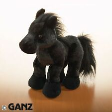New retired webkinz black stallion with sealed tag and code