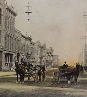 Postcard Calgary 1908 8th Ave. West Alberta Canada Vintage Postcard P45