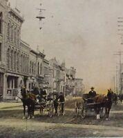 Postcard Calgary 1908 8th Ave. West Alberta Canada Vintage Postcard P45