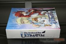 The Awakened Fate: Ultimatum Ultimate Fate Limited Edition (PS3 2015) SEALED!
