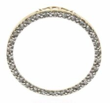 Genuine Diamond Circle of Love Pendant in 10 Kt Yellow Gold