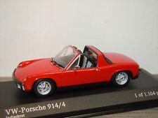 VW Porsche 914 914/4 1969-73 - Minichamps 1:43 in Box *33990
