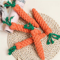 Pet Chew Play Toy Straw Carrot For Hamster Guinea Rabbit Rat Supplies