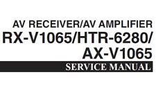 Yamaha AX-V1065 RX-V1065 HTR-6280 AV Receiver AV Amplifier Service Manual eng