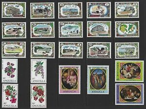 G743 Anguilla / A Small Collection Early & Modern Lhm