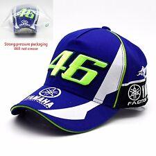 Valentino Rossi VR46 MotoGP Yamaha R1 R6 M1 Racing Embroidered Baseball Cap Hat