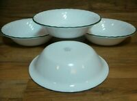 """SET OF 4 - CORNING CORELLE - CALLAWAY IVY - 7 1/4"""" SOUP CEREAL BOWLS - NICE"""