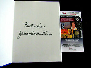 JULIA RUTH STEVENS BABE RUTH DAUGHTER SIGNED AUTO MAJOR LEAGUE DAD BOOK JSA
