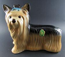 VINTAGE MELBA WARE PORCELAIN DOG FIGURINE MADE  ENGLAND (C27)