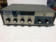 Vintage Muzak Precision Electronics Model St-100D Amplifier Beautiful Tested