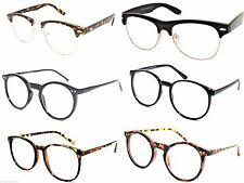 Geek Nerd Clear Lenses Glasses Optical Frames / Fancy Dress Fashion Spectacles