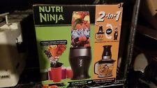 Nutri Ninja 2-in-1 QB3000 Blender - 40oz Food Processor AND 2 16 oz Single Serve